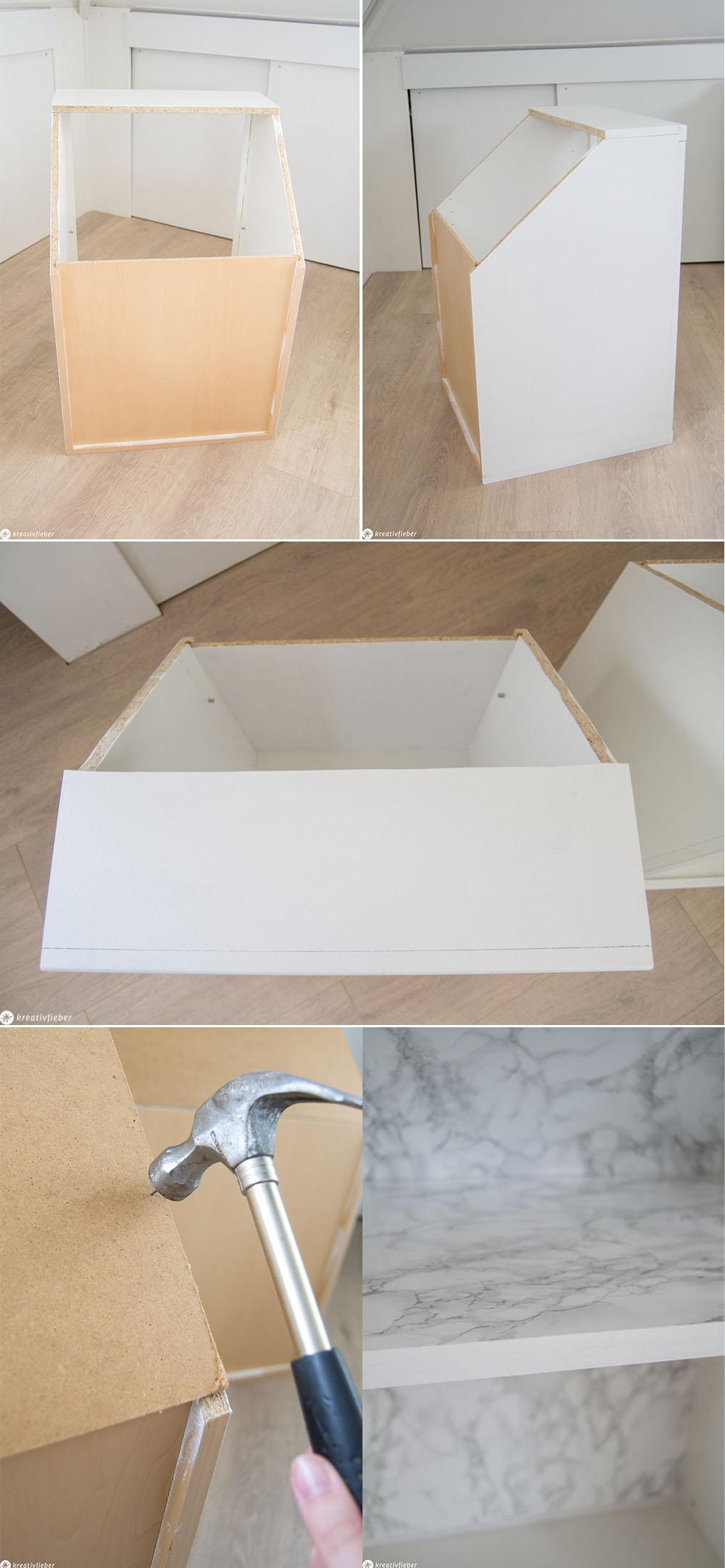 Diy Ganz Einfach Schranke Fur Dachschragen Bauen