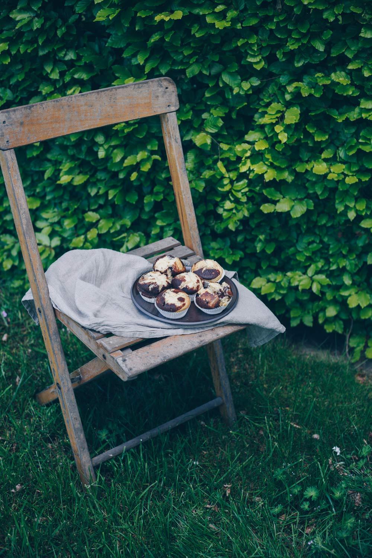 Marmormuffins backen - simples Rezept für Muffins - Picknick mit Muffins