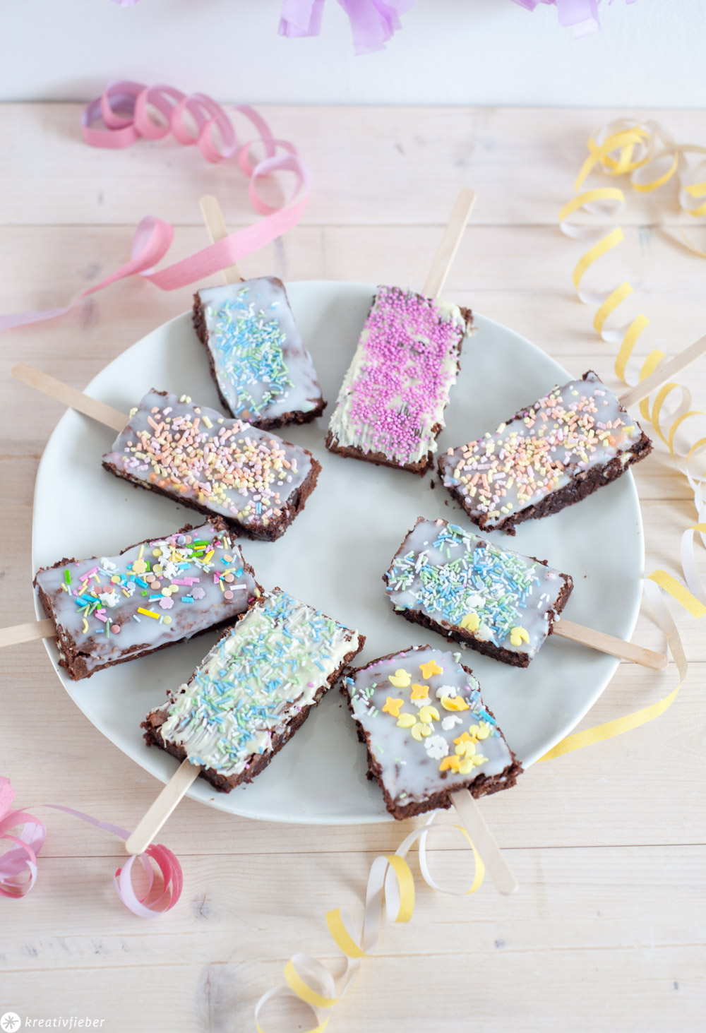 Party Brownies Rezept