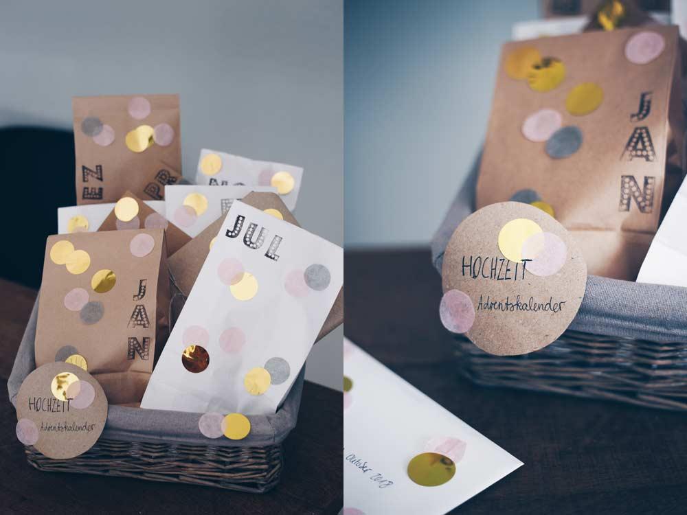 Diy Hochzeitsadventskalender Selbermachen Geschenkidee Für