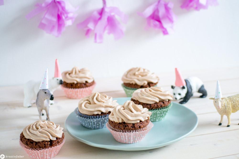 Cupcakes für den Kindergeburtstag