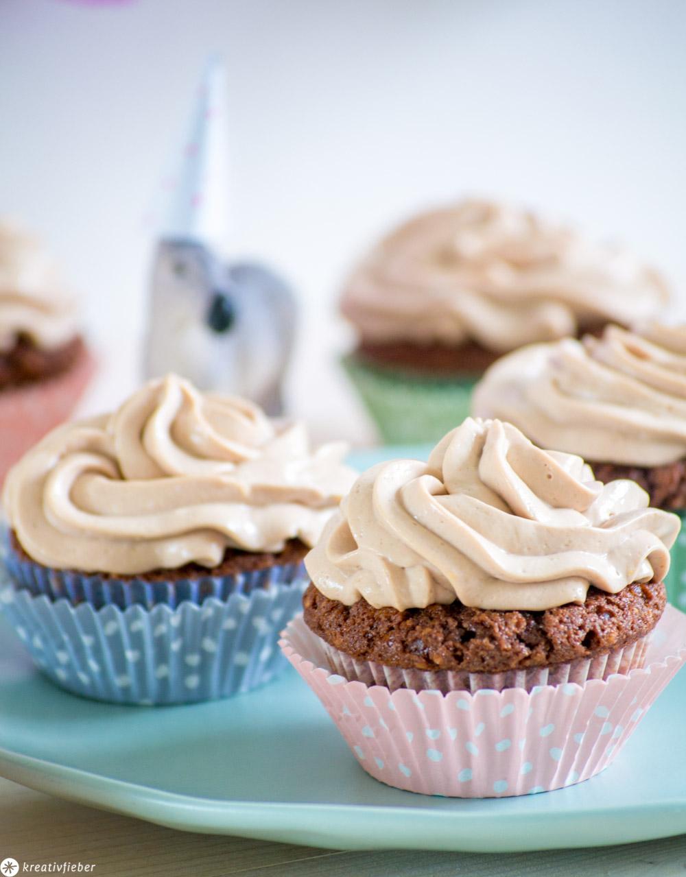 Geburtstagsrezept Cupcakes für Kinder