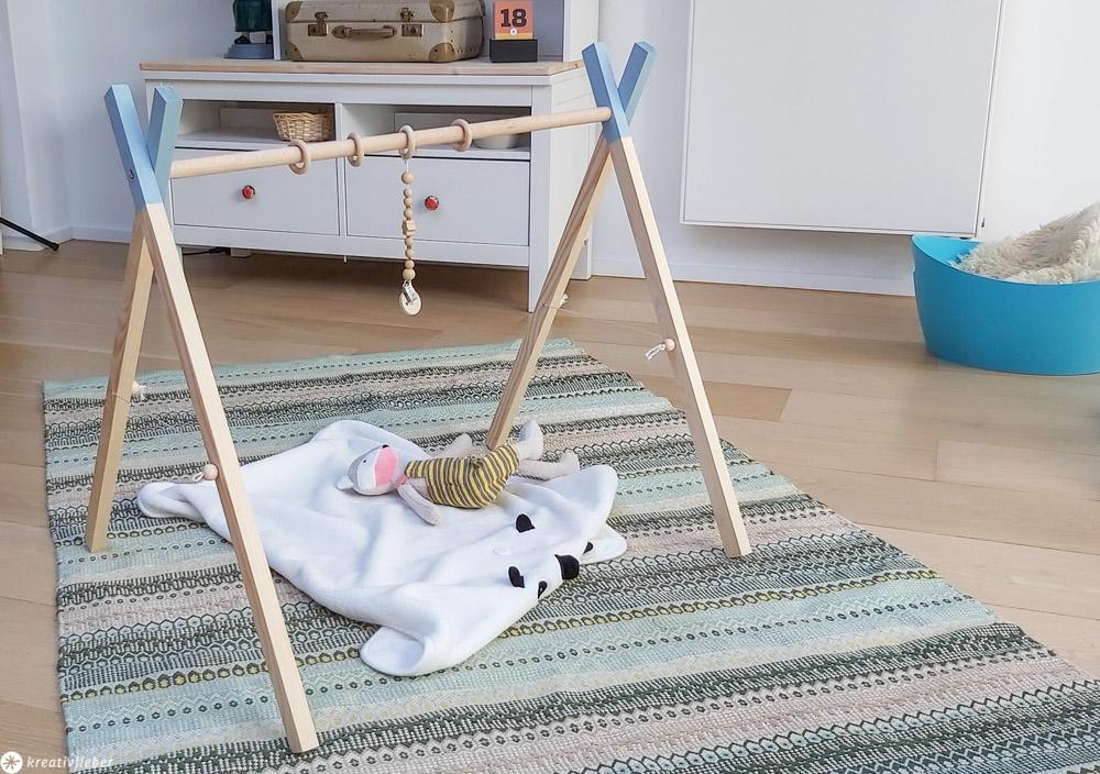 Tutorial Spielbogen für Babys bauen