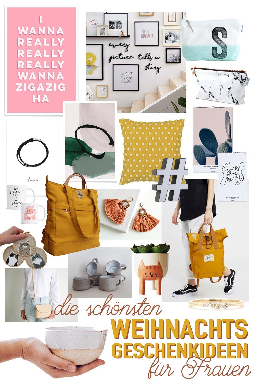 Die schönsten Weihnachtsgeschenkideen für Frauen 2019 - Schmuck, Accessoires, Poster und Co.