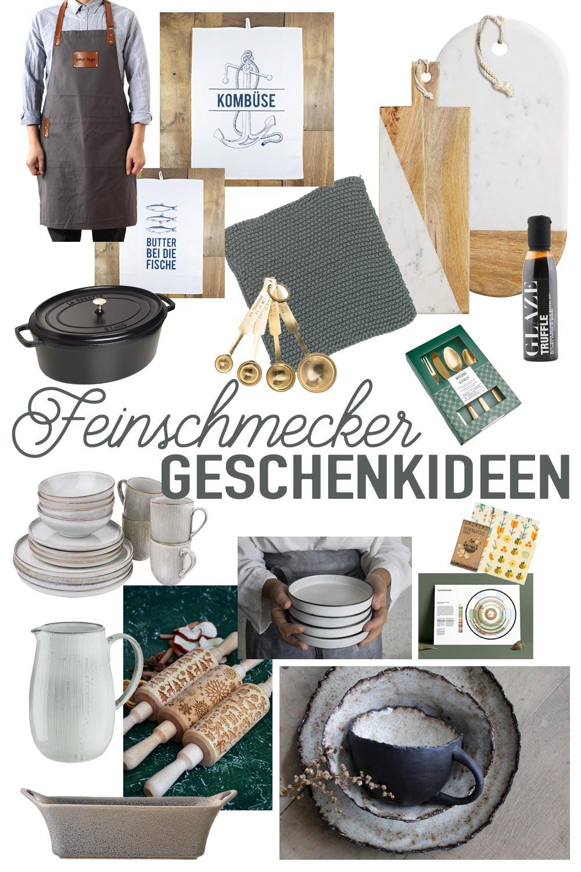 Schöne Geschenkideen für Feinschmecker und Hobbyköche aus dem Bereich Küche und Essen und Trinken