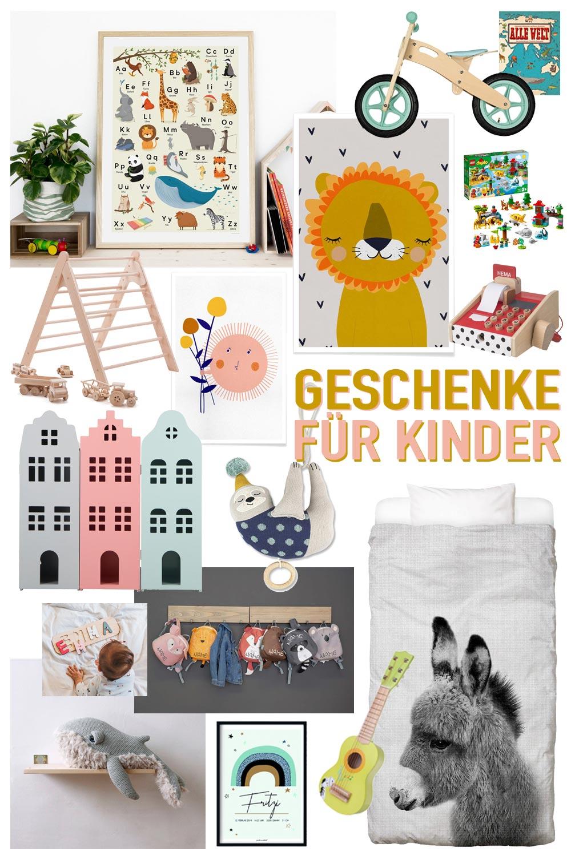 Weihnachtsgeschenkideen für Kinder im Alter von 1 bis 3 Jahren - Spielzeug, Kuscheltiere, Kinderzimmer Deko und Co.