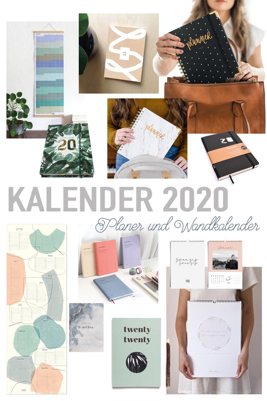 Die schönesten Kalender 2020 - Wandkalender und Planer