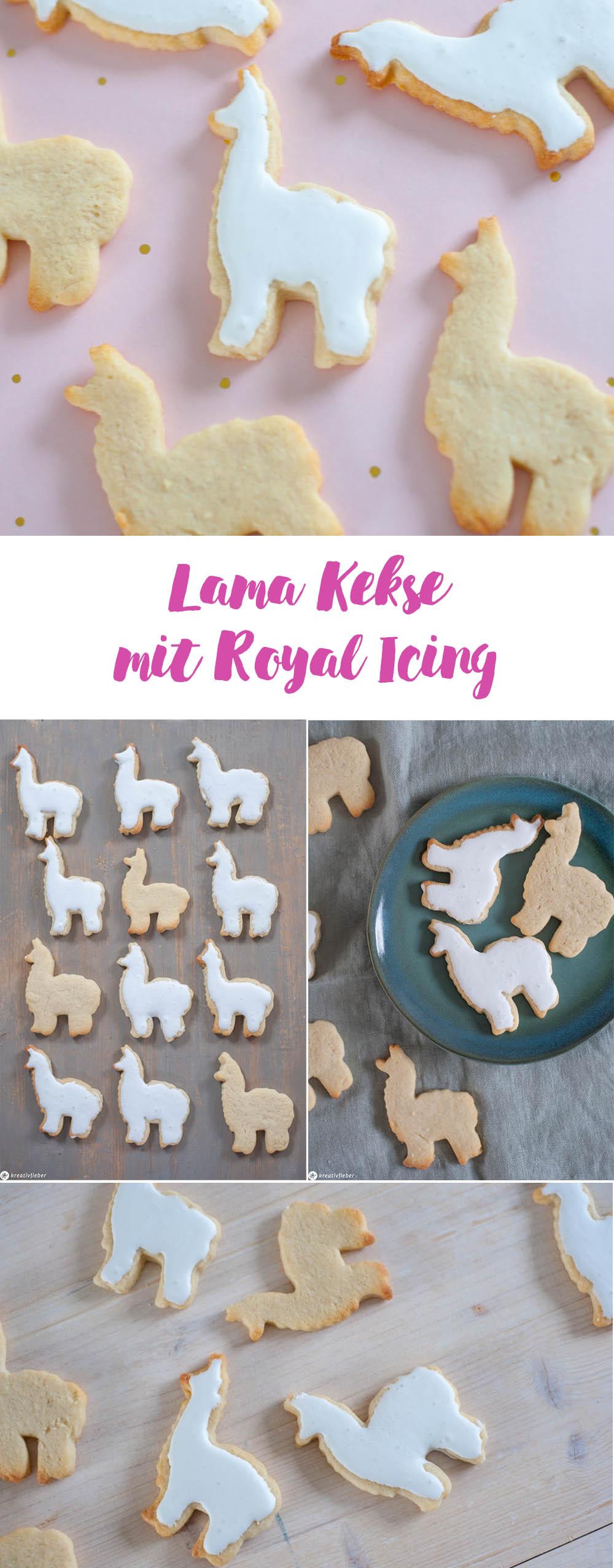 Kekse mit Royal Icing Zuckerguss