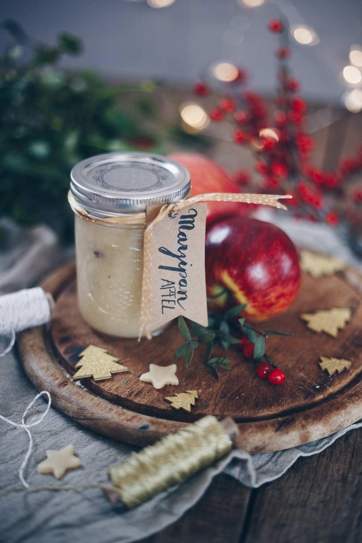Marzipan-Apfel-Marmelade - Geschenkidee aus der Küche