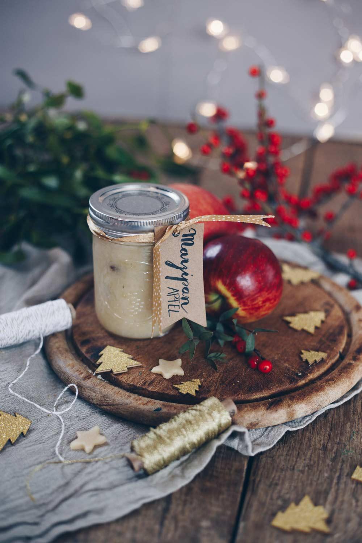 Marzipan-Apfel-Marmelade selbermachen - Geschenk aus der Küche