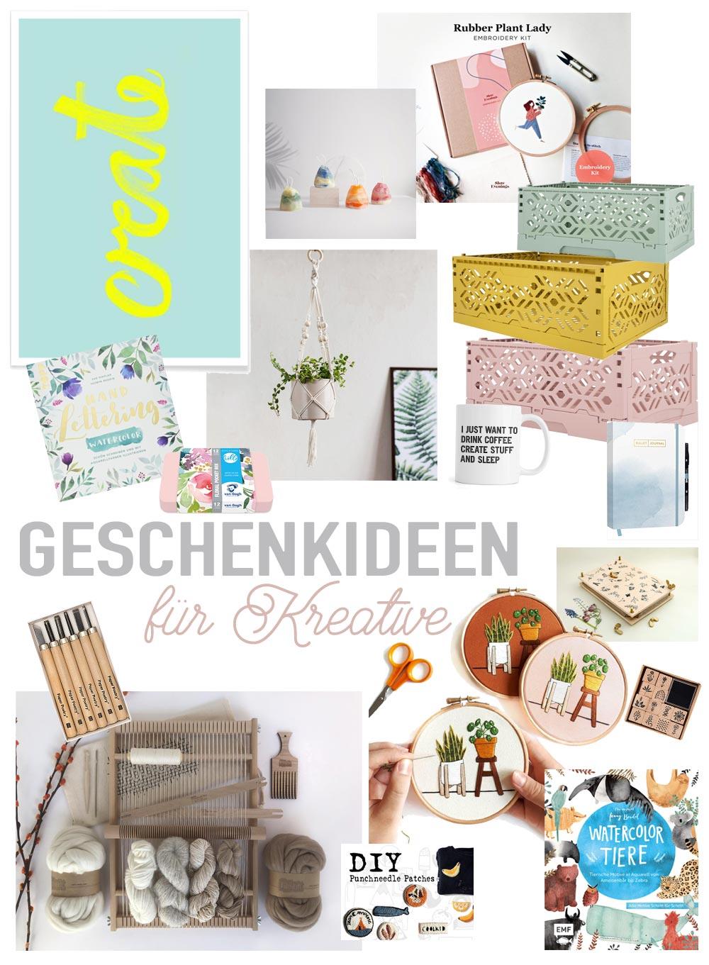 Weihnachtsgeschenkideen für Kreative - Geschenktipps aus dem Bereich DIY Kits, Bastelmaterial, Kreativbücher, Deko und Aufbewahrung