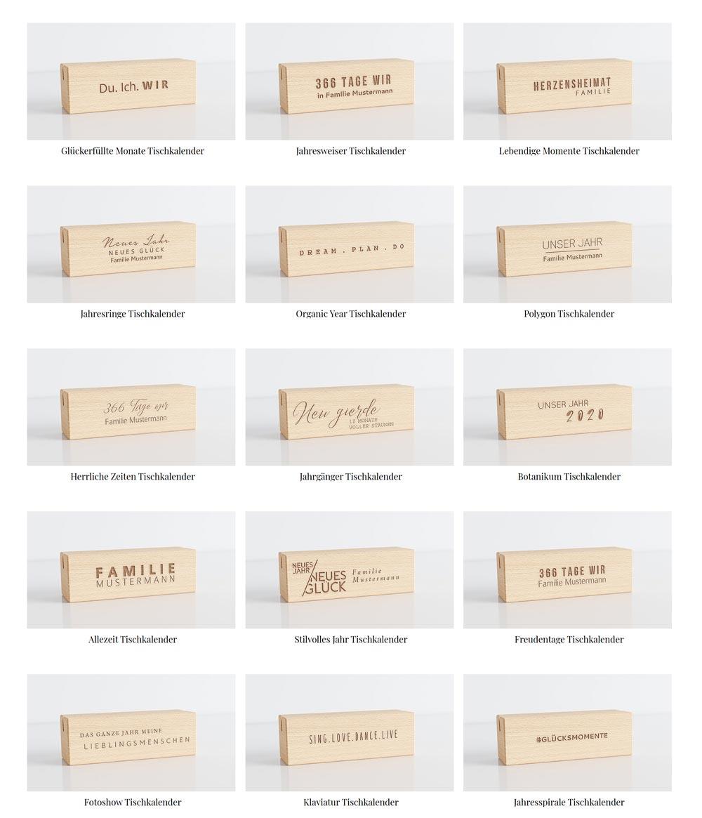 Beispiele für Holzständer Designs von Sendmoments