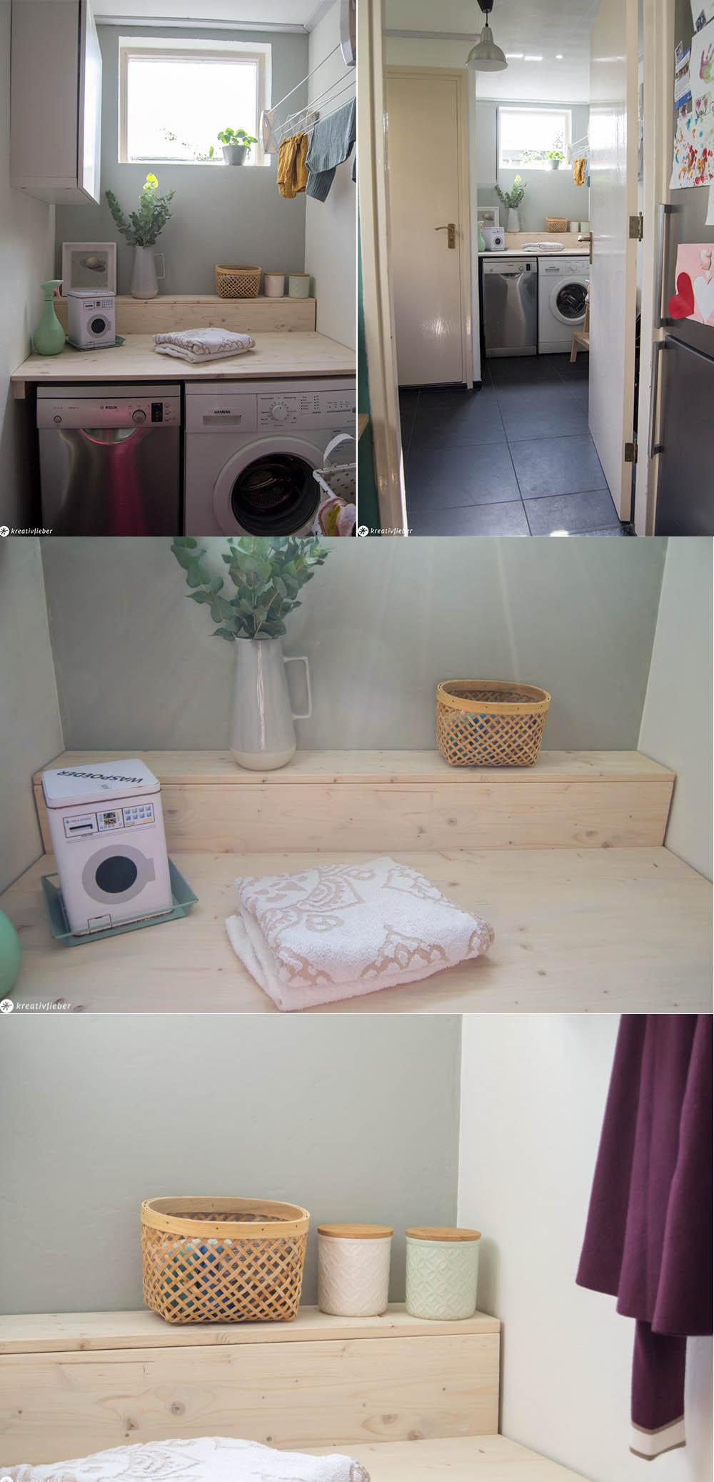 Waschraum DIY Waschtisch
