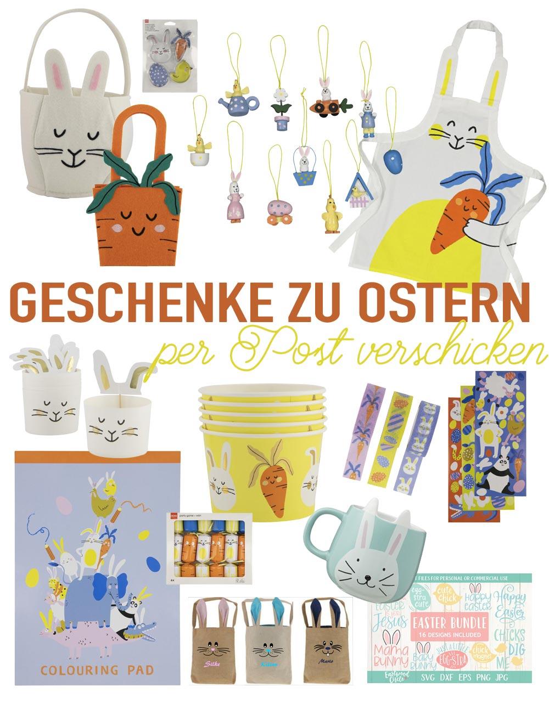 Kleine Geschenke zu Ostern per Post verschicken - unter 5 Euro