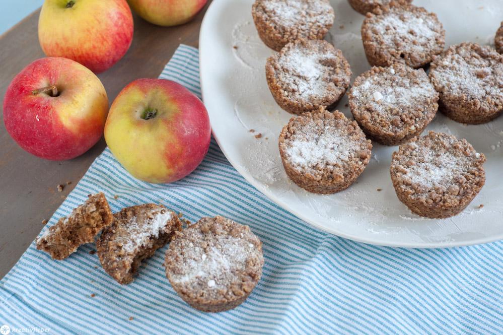 Apfel-Streusel Küchlein aus Holland