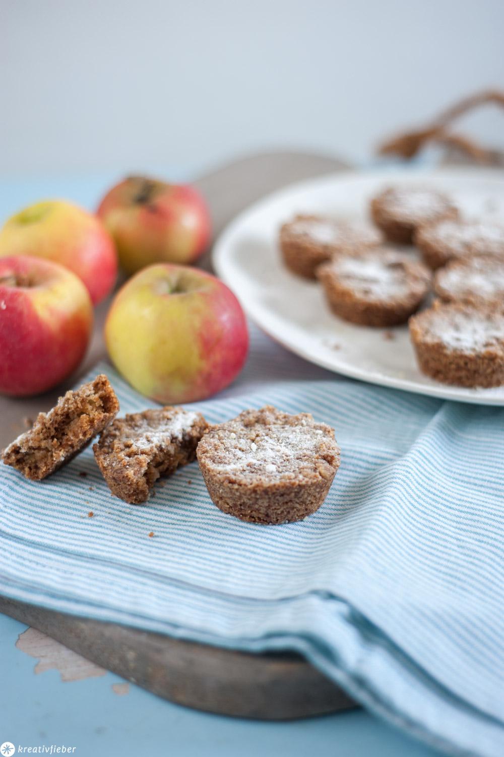 Niederländische Apfel-Streuselküchlein Rezept