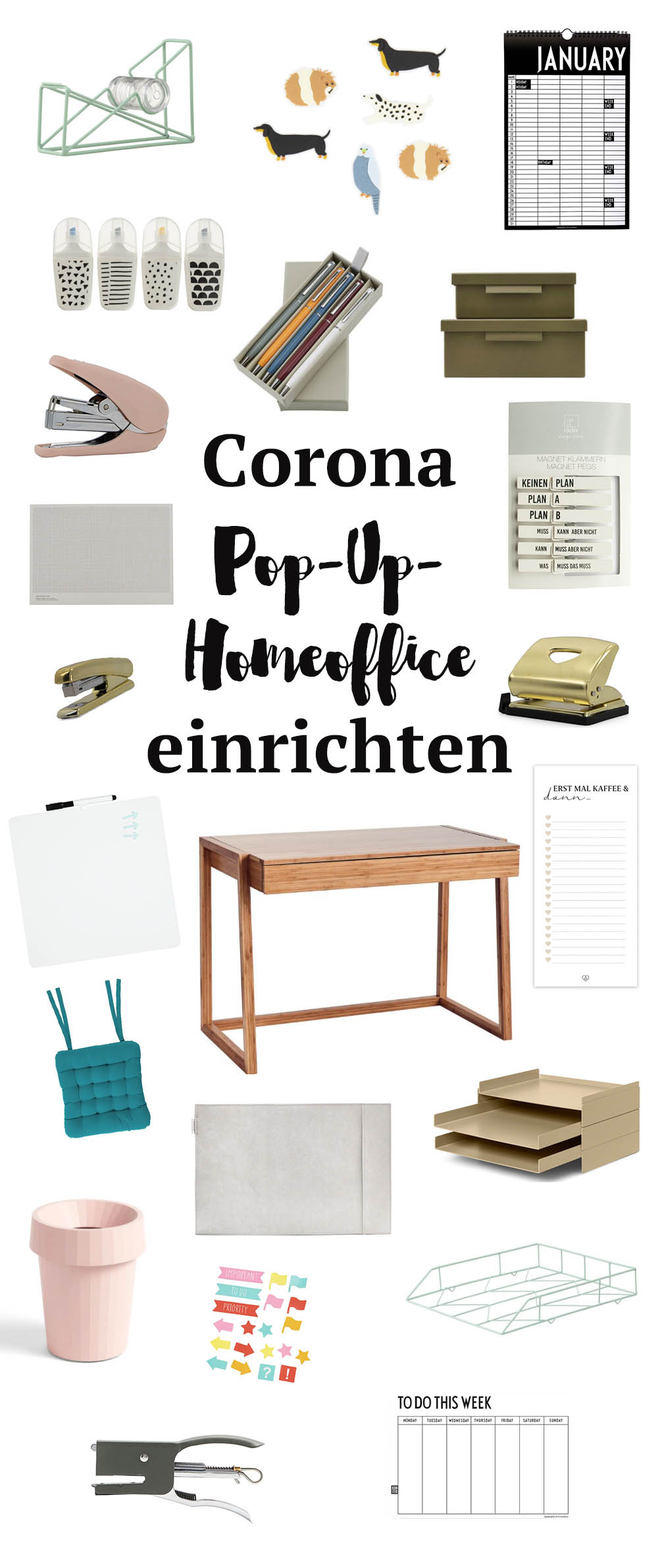 Corona Pop Up Homoffice Einrichten