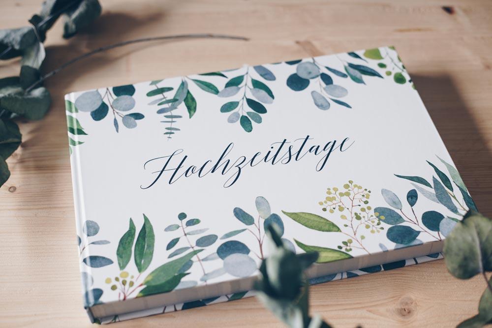DIY Geschenkidee zur Hochzeit - DIY Hochzeitstage Album gestalten