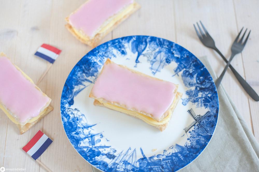 Tompouce Rezept aus Holland