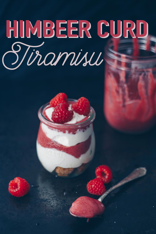 Himbeer Curd Tiramisu Rezept - leckeres Dessert