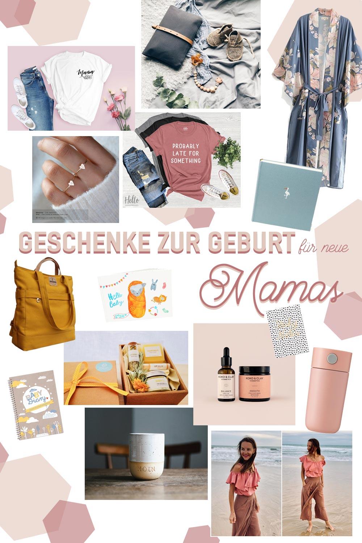 Gechenke zur Geburt für neue Mamas - Geschenkideen für Mütter