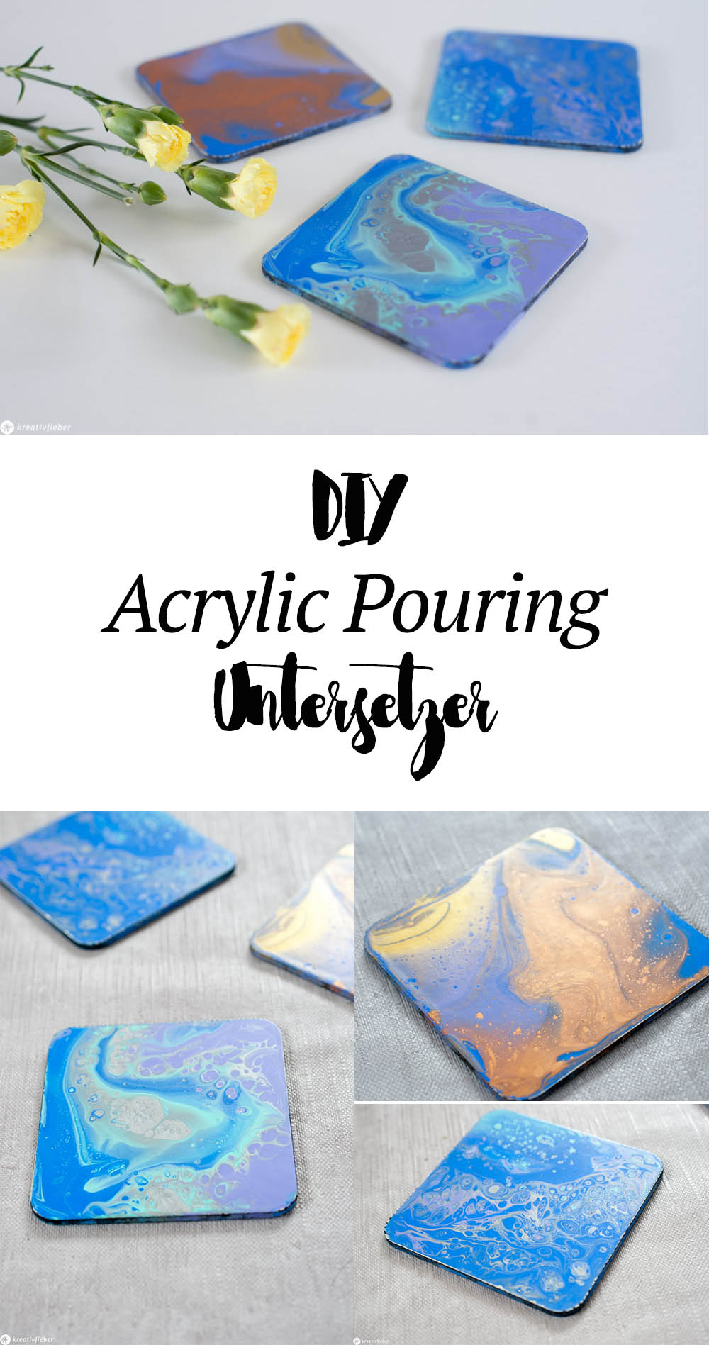 Anfänger Anleitung Acrylic Pouring