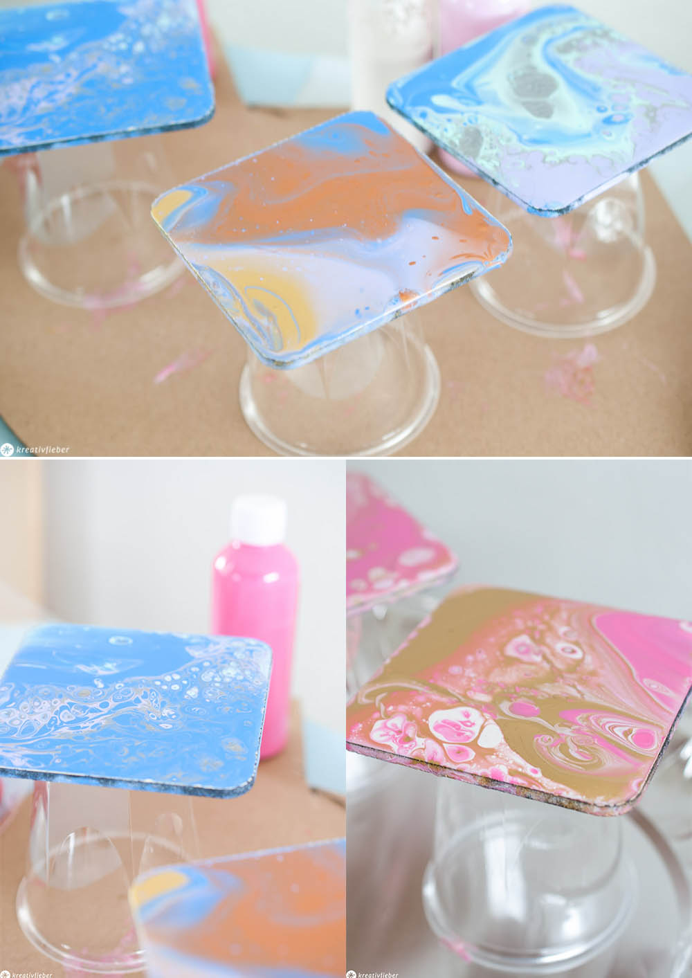 DIY Anleitung Acrylic Pouring einfach