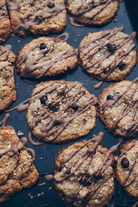 Große Haselnuss Cookies mit softem Kern backen