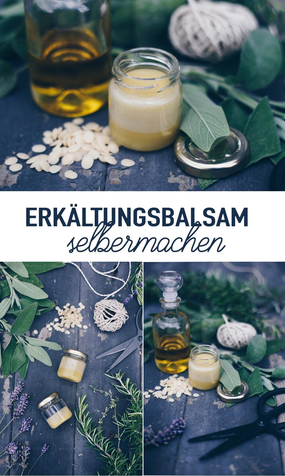 DIY Erkältungsbalsam selbermachen Anleitung