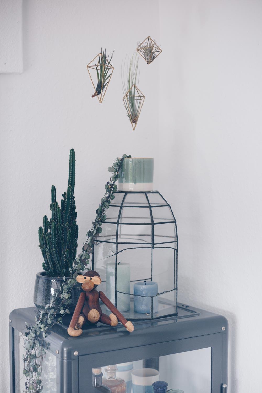 DIY geometrische Hänger für Luftpflanzen - DIY Deko mit Tillandsien