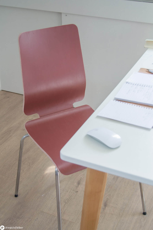 Stühle neu lackieren