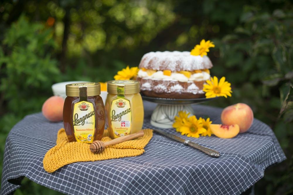 Unser Honigkuchen für die ganze Familie mit Langnese Honig