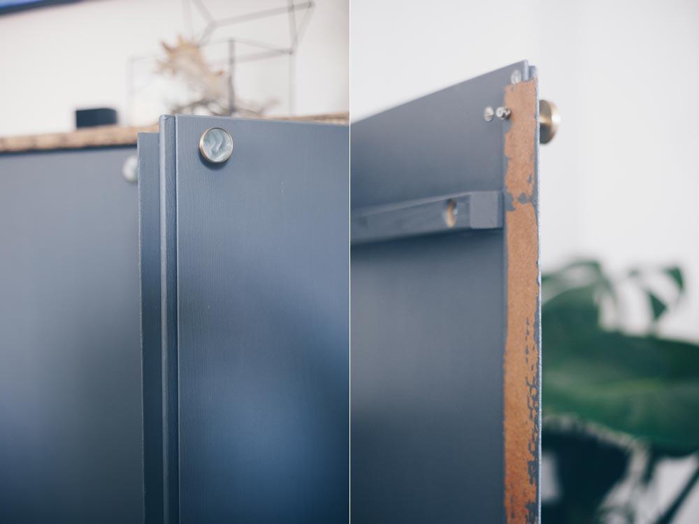 DIY Verblendung für das Ikea Ivar bauen - so kann man nicht mehr ins Regal schauen