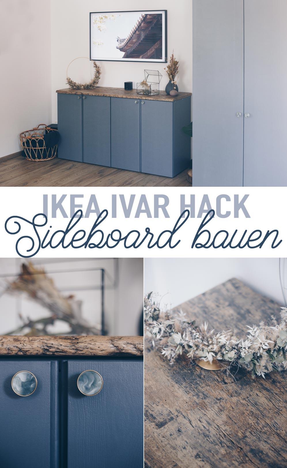 Ikea Ivar Hack - DIY Sideboard für das Wohnzimmer bauen - Möbel selberbauen