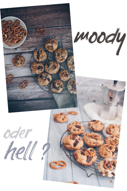 Moody oder hell - Unterschiede Food Fotografie durch Fotohintergründe