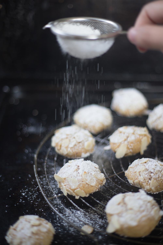 Mandorlini mit Zitrone backen - italienisches Mandelgebäck