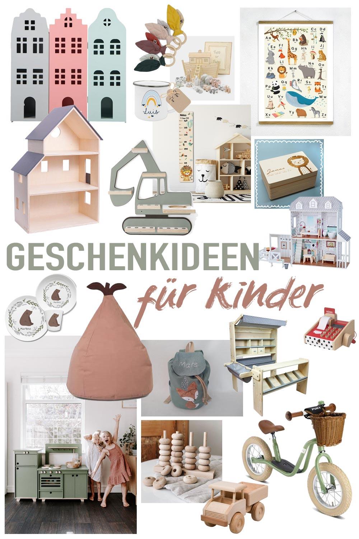 Schöne Weihnachtsgeschenkideen für Kleinkinder aus Holz oder personalisiert