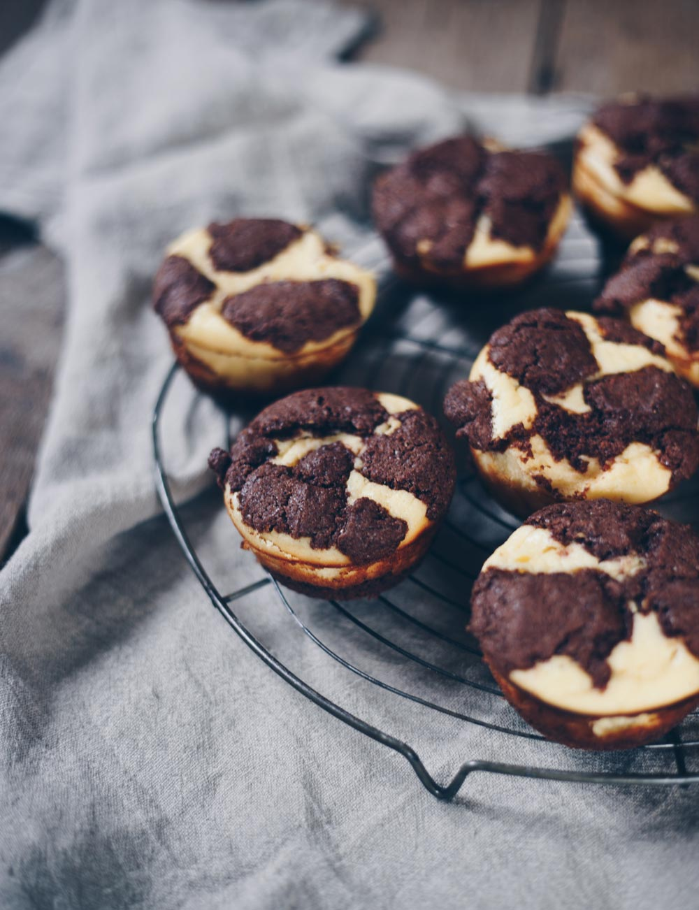 Zupfkuchen Muffins backen