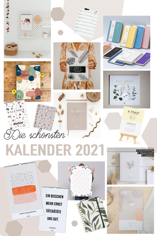 Die schönsten Kalender 2021 - Wandkalender, Familienkalender, Planer und Co. für das neue Jahr