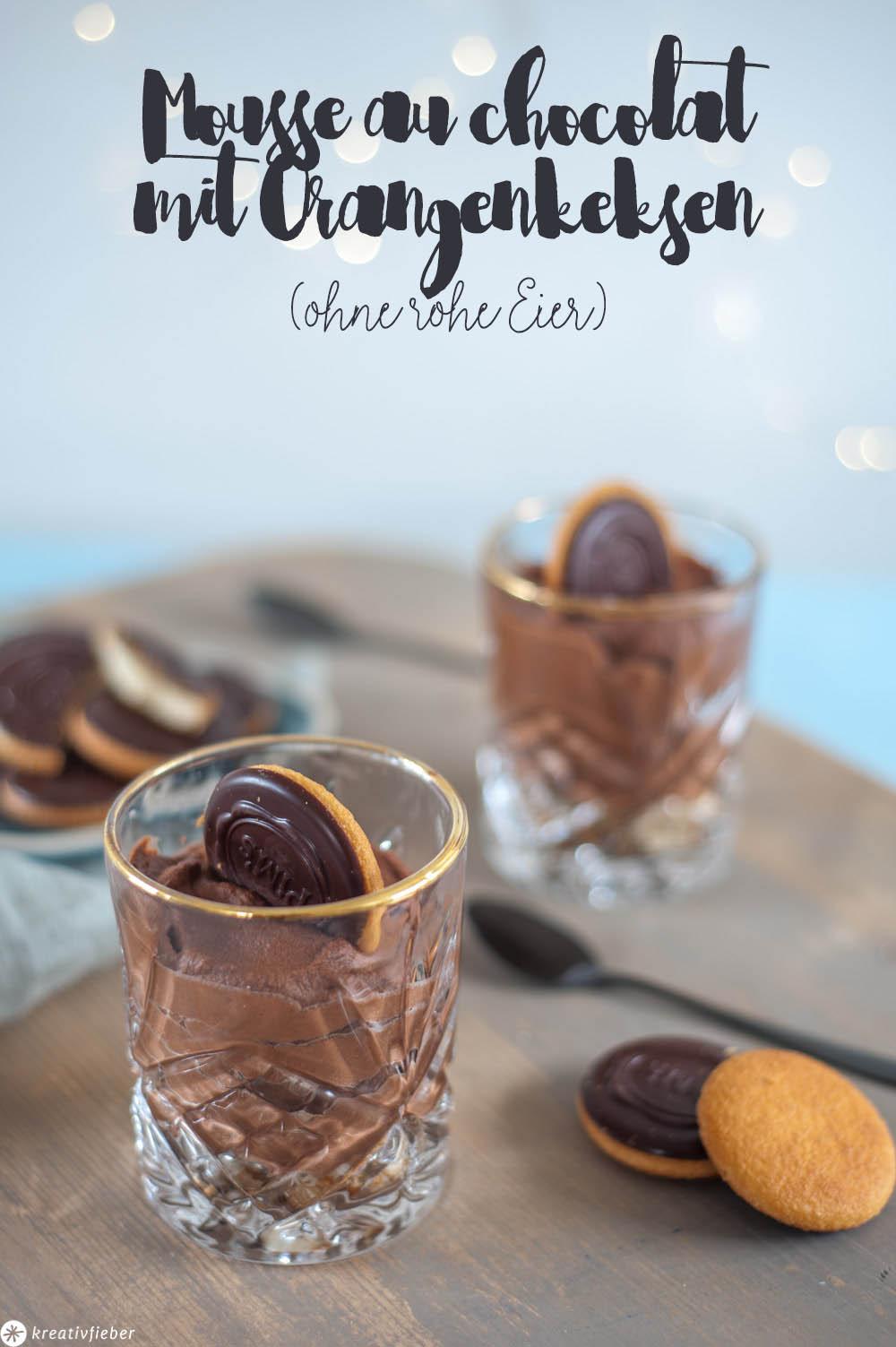 Dessert für Schwangere Mousse au chocolate