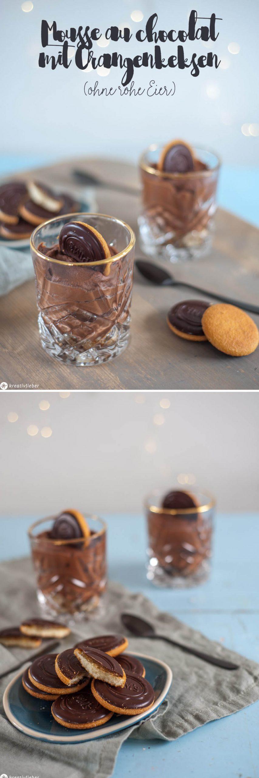 Mousse au chocolate für Schwangere