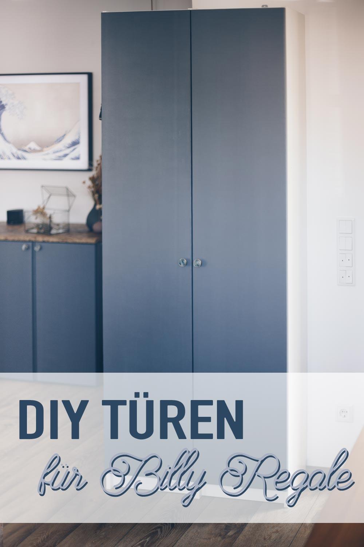DIY Türen für Billy Regale bauen Ikea Hack Anleitung