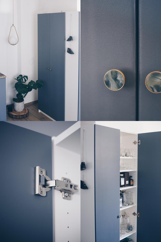 DIY Türen für Billy Regale bauen Schritt für Schritt Anleitung Ikea Hack