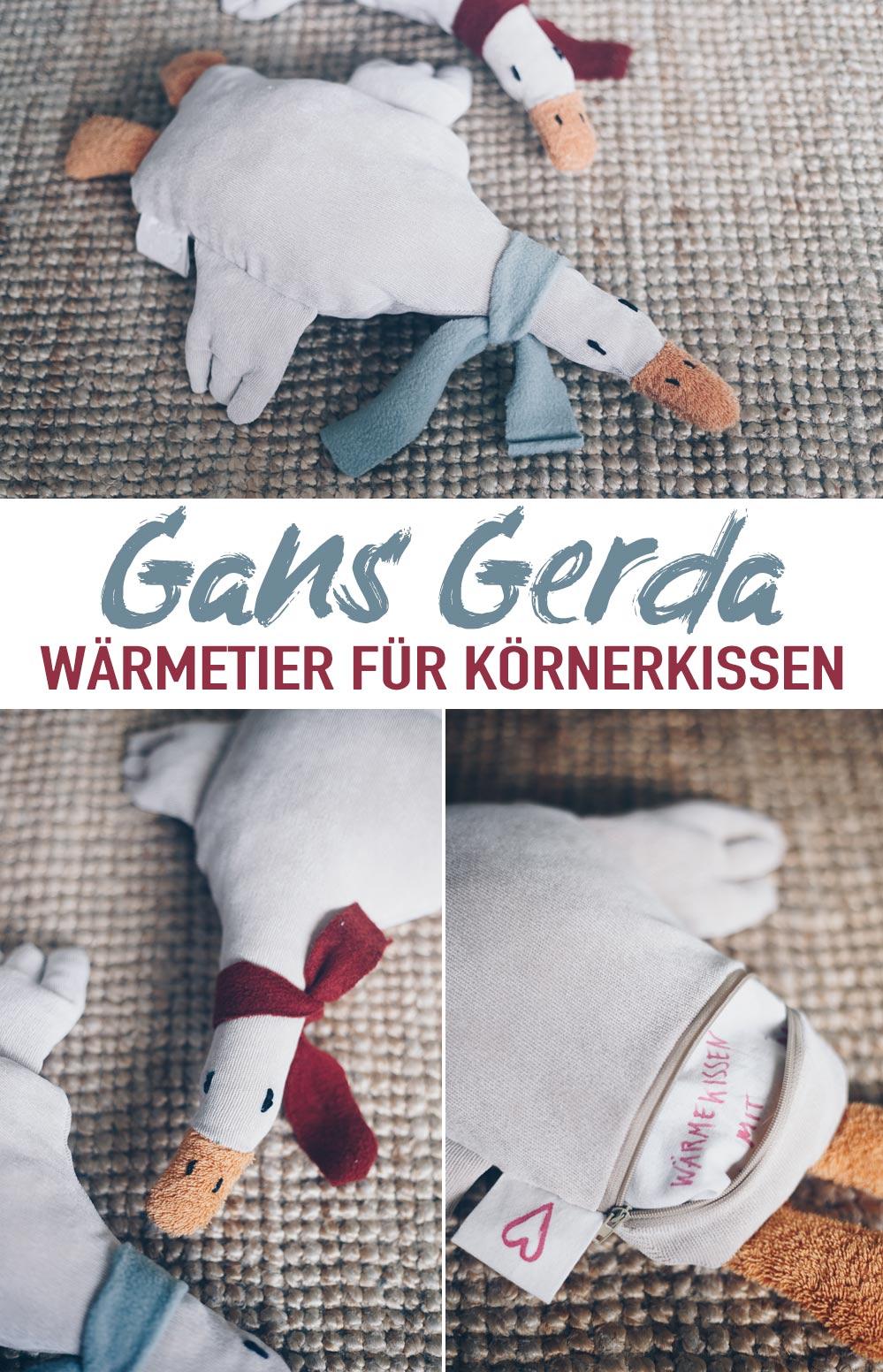 Gans Gerda Wärmetier nähen