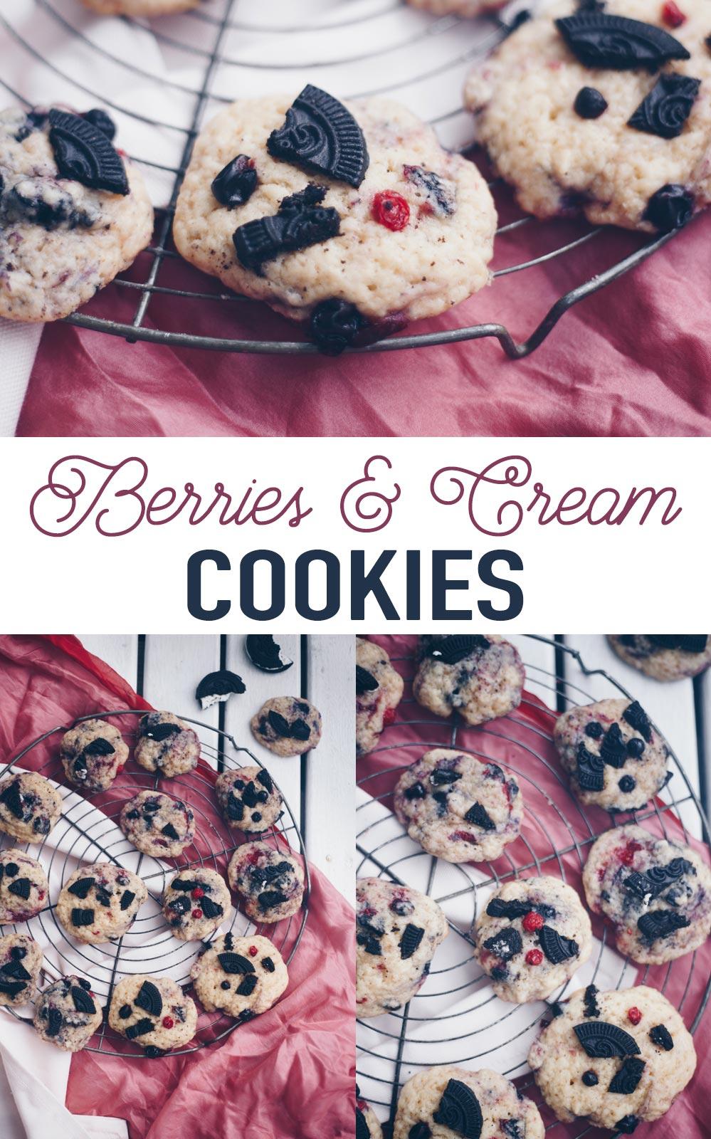 Berries and Cream Cookies Rezept