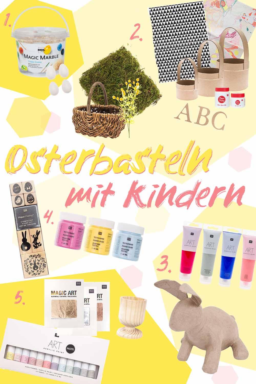 5 einfache Osterbastelideen für Kinder