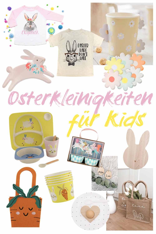 Osterdeko und Kleinigkeiten fürs Osterfest mit Kindern