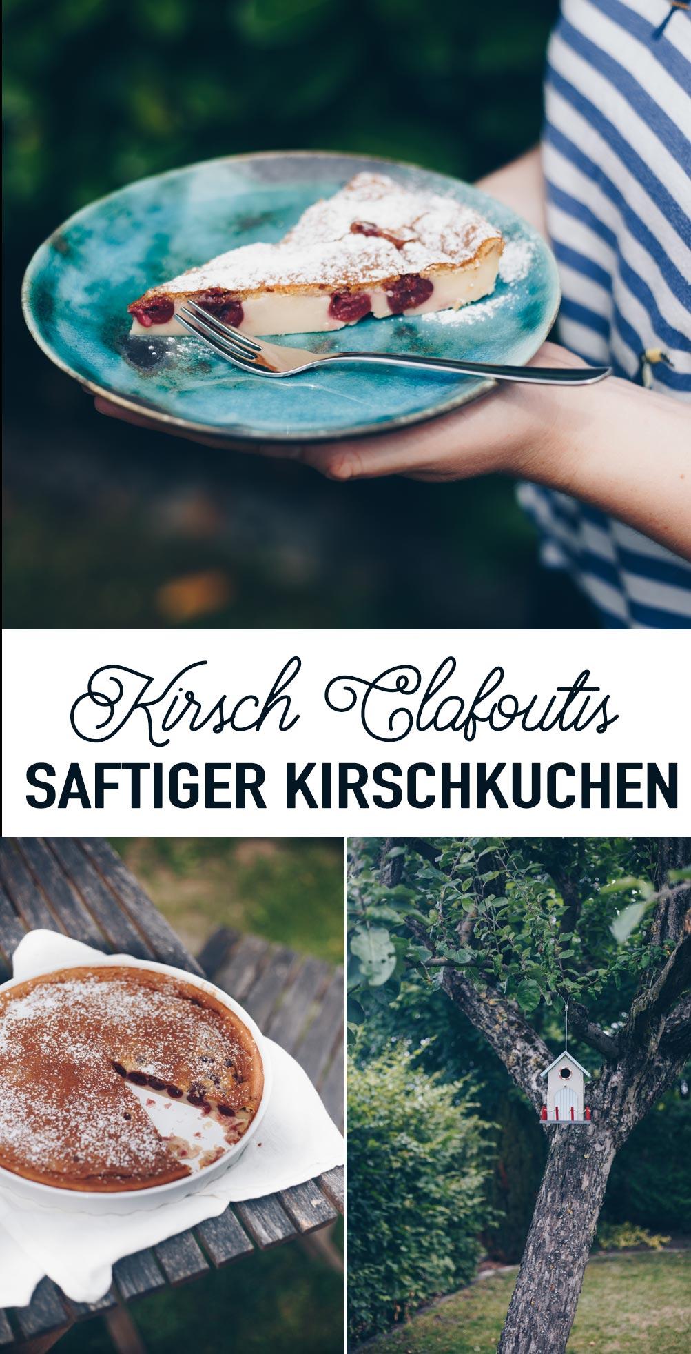 Kirsch Clafoutis - Rezept für saftigen Kirschkuchen