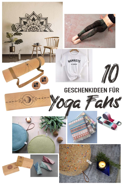 10 Geschenkideen für Yoga Fans