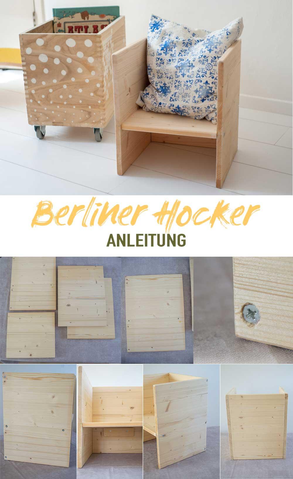 Anleitung Berliner Hocker für Kinder
